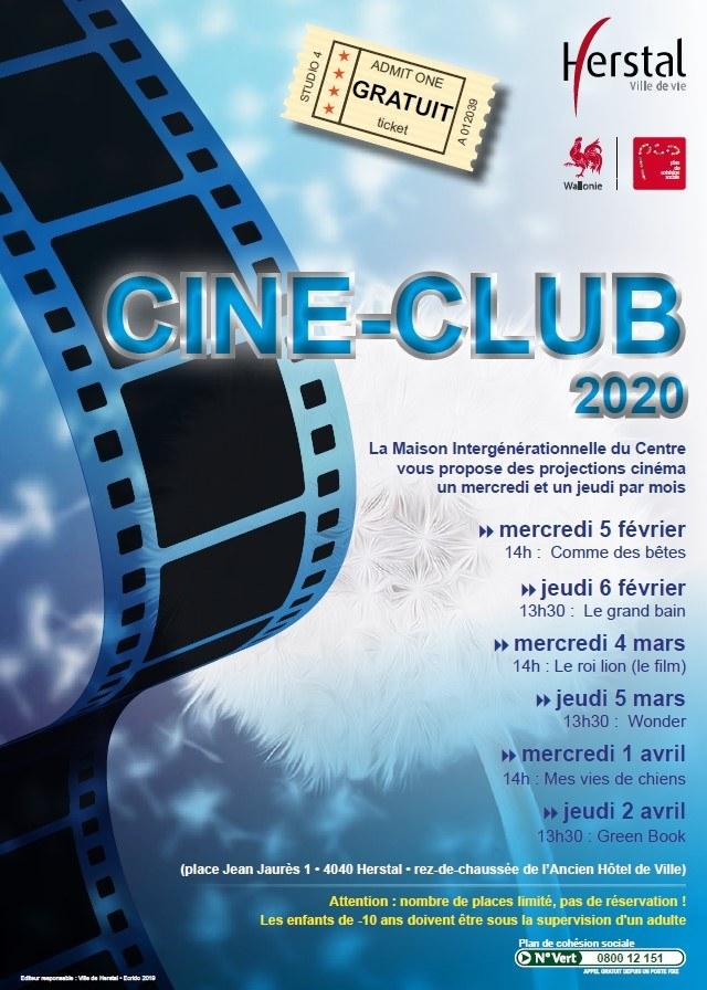 Agenda - Ciné-club 2020