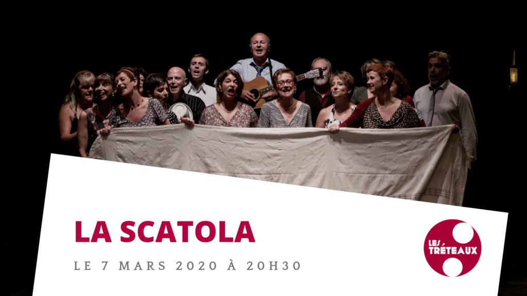 """Agenda -Troupe de théâtre """"la scatola"""""""