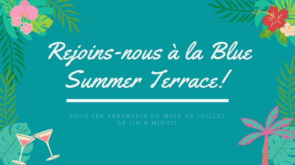 Blue Summer Terrasse